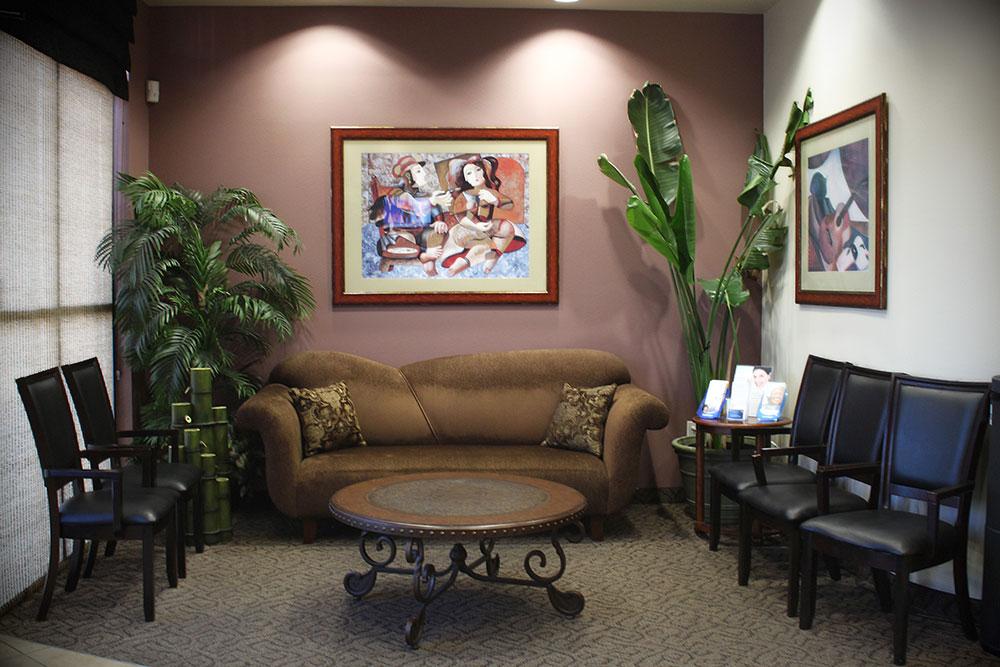 dental office waiting room - Las Vegas, NV