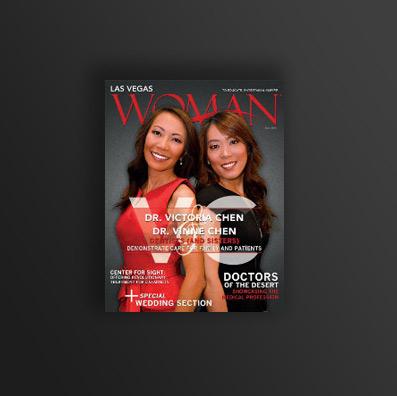 Woman magazine cover - Las Vegas, NV